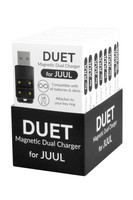 DUET Magnetic Dual USB Charger for JUUL | 8pc Display